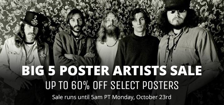 Big 5 Poster Sale