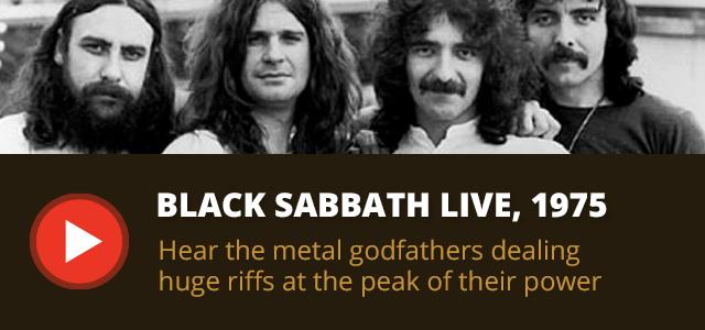 Black Sabbath Live 1975