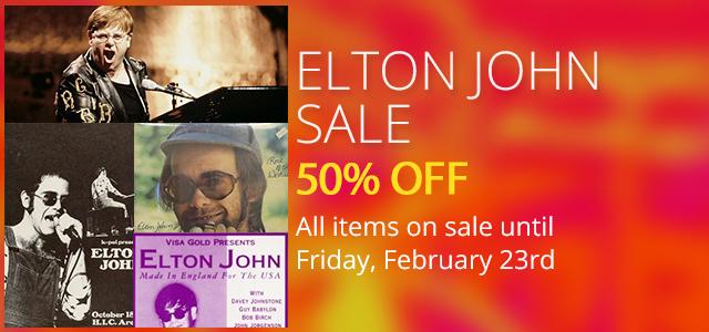 Elton John Sale