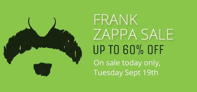 Frank Zappa Sale