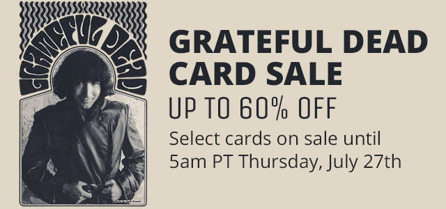 Grateful Dead Card Sale