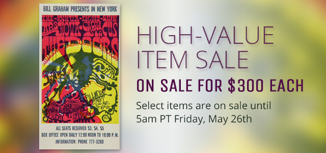 High-Value Item Sale