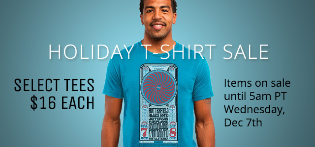 Holiday T-Shirt Sale