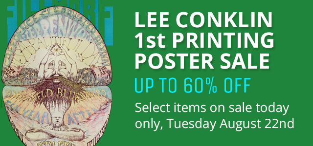 Lee Conklin 1st Printing Poster Sale
