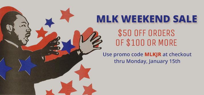 MLK Weekend Sale