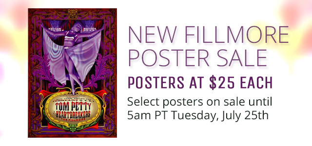 New Fillmore Poster Sale