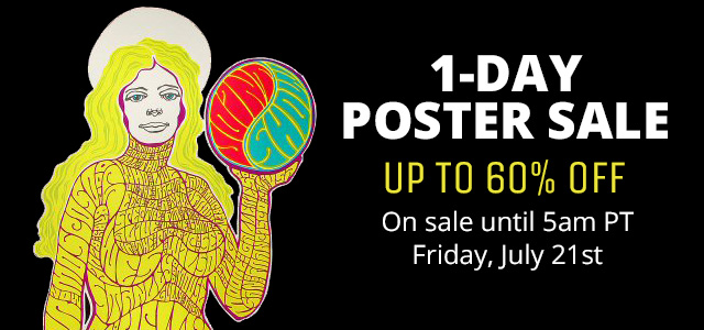 1-Day Poster Sale