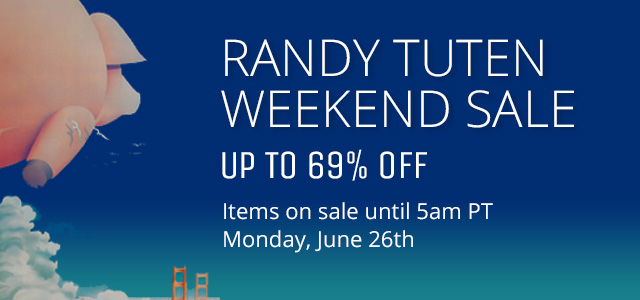 Randy Tuten Weekend Sale