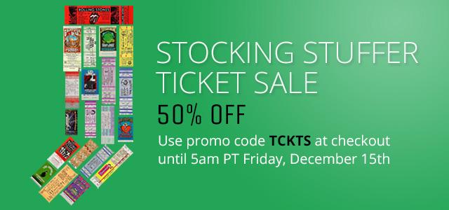 Stocking Stuffer Ticket Sale