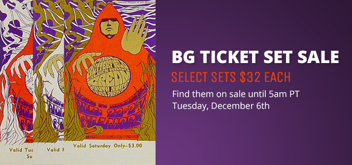 BG Ticket Set Sale