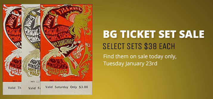 BG Ticket Sale