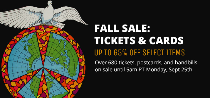 Fall Sale: Tickets & Cards
