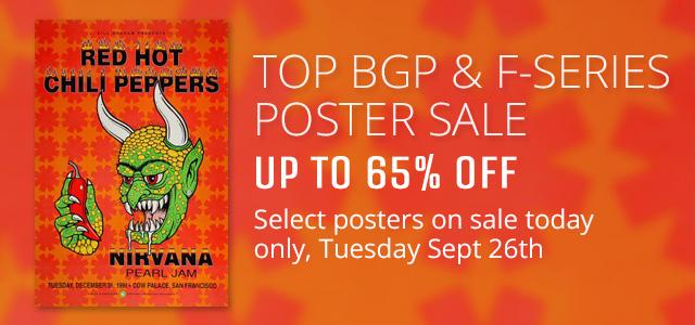 Top BGP & Fillmore Posters