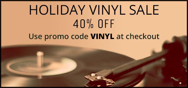 Holiday Vinyl Sale