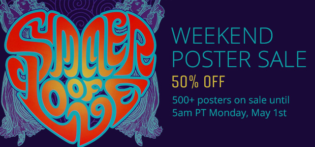 Weekend Poster Sale