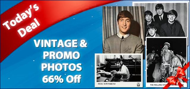 December Deal of The Day - Vintage & Promo Prints 66% Off