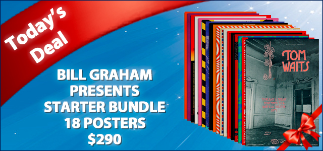 December Deal of The Day - Bill Graham Presents Starter Bundle