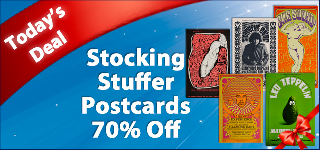 December Deal of The Day - Stocking Stuffer Postcards 70% Off