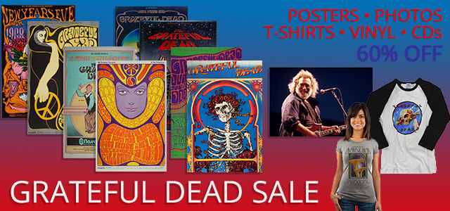 All Grateful Dead 40% Off