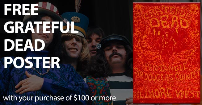 Free Grateful Dead Poster