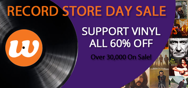 Record Store Day: Vinyl 60% Off