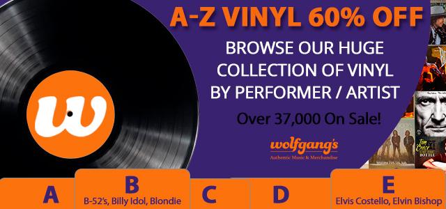 A-Z Vinyl 60% Off A-Z Vinyl 60% Off