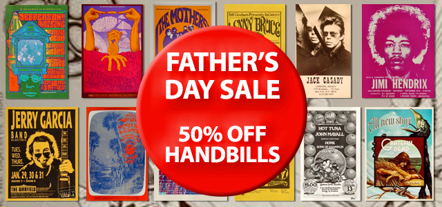 Father's Day Handbills - 50% Off