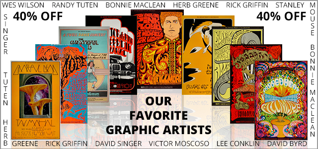 40% Off Our Favorite Artists 40% Off Our Favorite Artists
