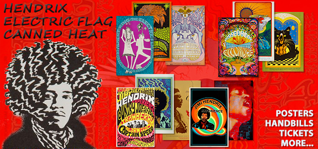 Hendrix, Canned Heat, Electric Flag 40% Off