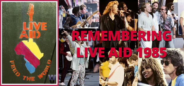 Remembering Live Aid 1985