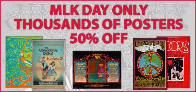 MLK Celebration 50% Off Posters
