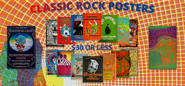 Fabulous Posters for $30 or Less