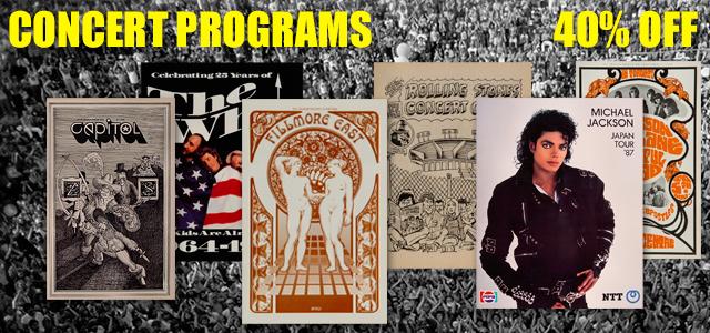 Concert Programs 40% Off Concert Programs 40% Off