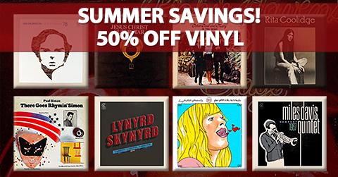 Summer Savings! - Vinyl Summer Savings! - Vinyl
