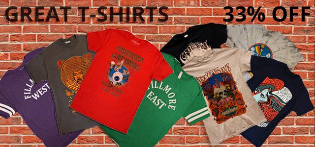 T-Shirts 33% Off