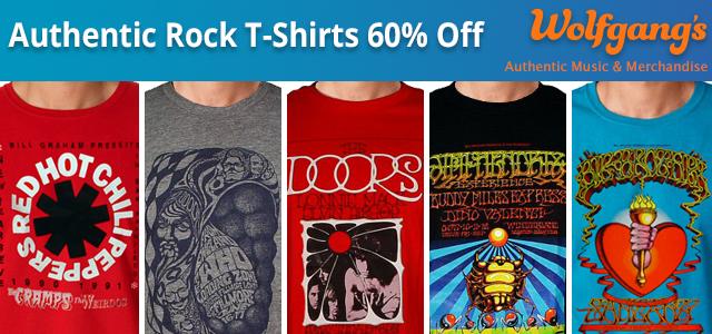 Terrific T-Shirts 50% Off