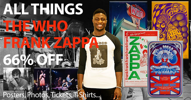 All Things The Who & Frank Zappa 66% Off All Things The Who & Frank Zappa 66% Off