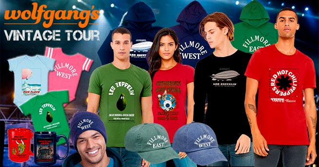 Iconic Vintage Tour Shirts & Hats Iconic Vintage Tour Shirts & Hats