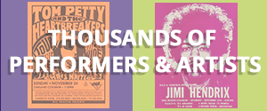 Handbills & Postcards Performers & Artists