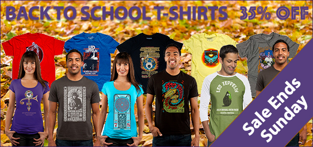 Back To School - T-Shirts 35% Off