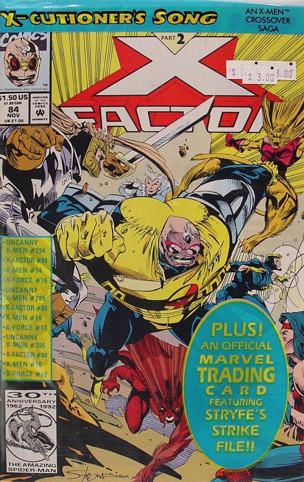 X-Factor Comic Book