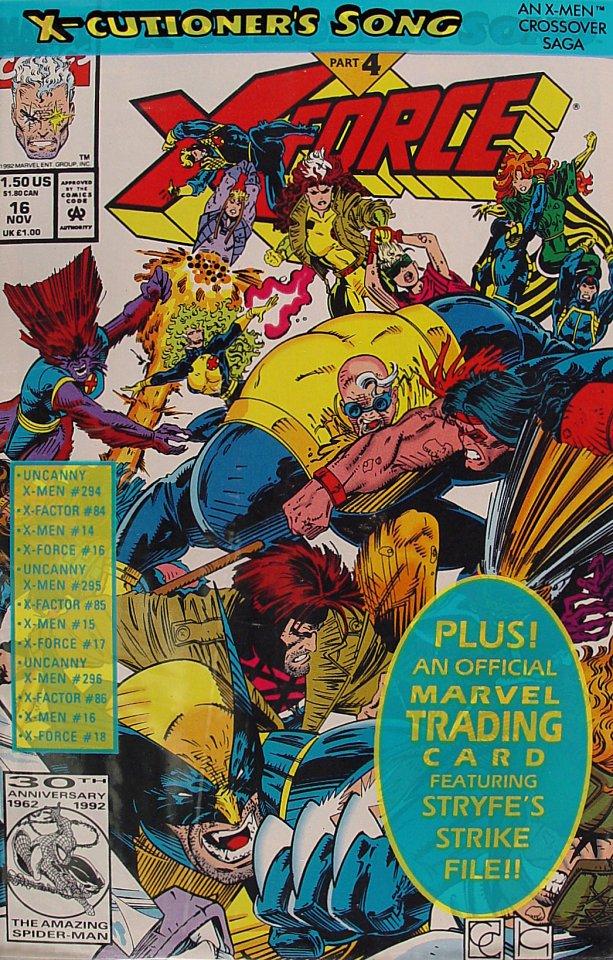 X-Force Comic Book