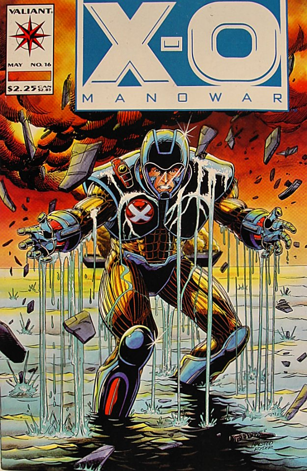 X-O Manowar Comic Book