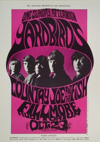 Yardbirds Postcard