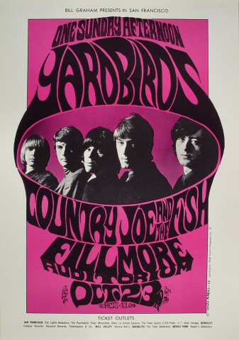 Yardbirds Poster