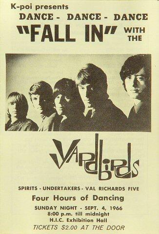 Yardbirds Program