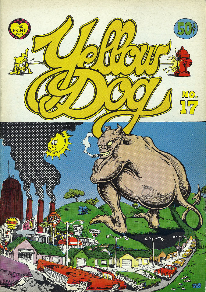 Yellow Dog No. 17 Comic Book