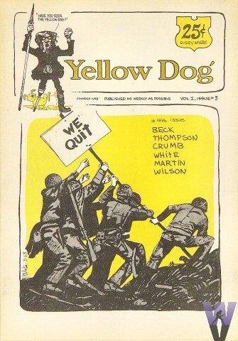 Yellow Dog Vol. 1, No. 3 Comic Book