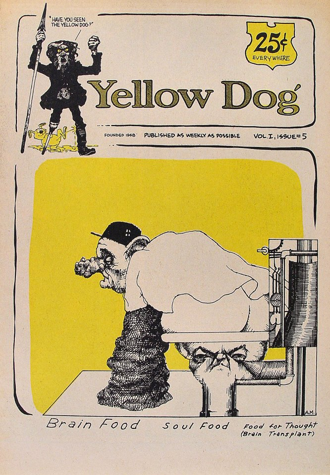 Yellow Dog Vol. 1 No. 5 Comic Book