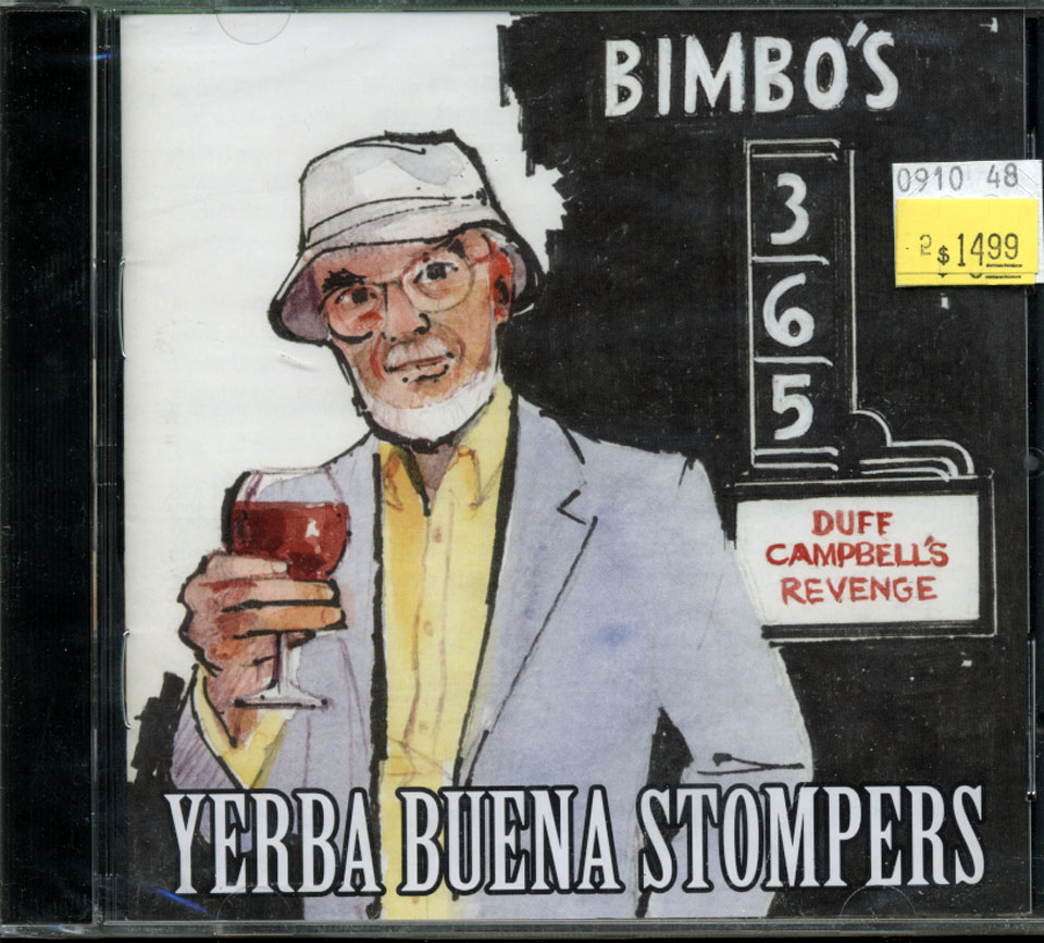 Yerba Buena Stompers CD